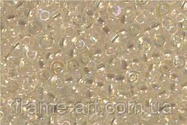 Бисер 58205 (10741) Preciosa (Чехия) прозрачный радужный 25г
