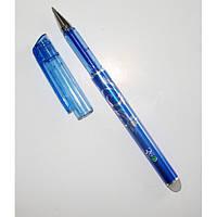 Ручка гелевая пиши-стирай, стирается ластиком, 0,5 мм, синяя