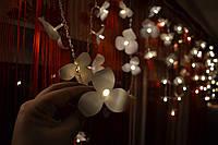 """Гирлянда бахрома на окно """"Нежные орхидеи"""", фото 1"""