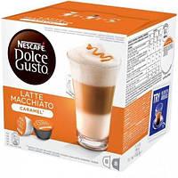 Кофе в капсулах NESCAFE Dolce Gusto Latte Macchiato Caramel - 16 шт
