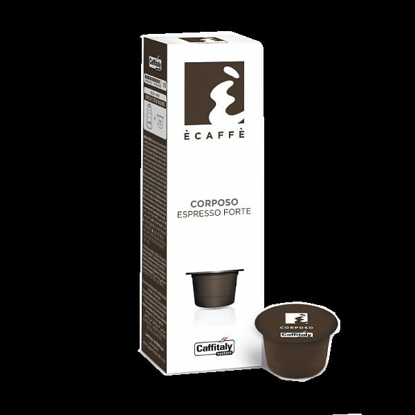 Кофе в капсулах Caffitaly Ecaffe Corposo - 20 шт