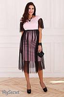 Вечернее платье для беременных и кормления DOROTIE р. 44-48 ТМ Юла Мама DR-47.201