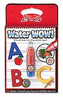"""Волшебная водная раскраска """"Алфавит"""" для детей от 3 лет / Water WOW Book - Letters ТМ Melissa & Doug MD5389"""