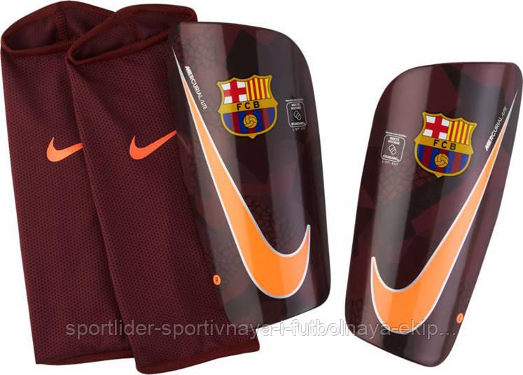 Щитки  Nike FC Barcelona Mercurial Lite SP2112-608 - Спортлидер› спортивная и футбольная экипировка, обувь, мячи, форма, бутсы, сумки, аксессуары в Киеве