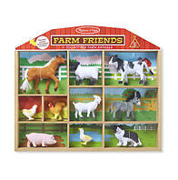 Набор животных фермы, 10 шт. / Farm Friends - 10 Collectible Farm Animals ТМ Melissa & Doug MD594