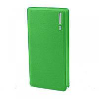 Универсальная мобильная батарея Powerbank 15000mAh Green LCD 2USB