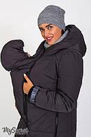 СЛИНГО-ВСТАВКА в зимнее пальто ANGIE для беременных ТМ Юла Мама OW-47.051
