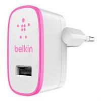 Зарядное устройство belkin usb home charger Белый/Розовый (f8j052vfpnk)