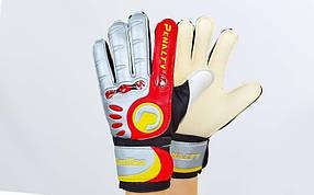 Перчатки вратарские с защитными вставками на пальцы FB-830-3 PENALTY