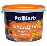 Краска универсал-фасад Polifarb,14,0 кг