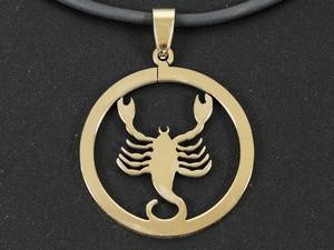 Кулон Кулон Скорпион (24.10-22.11) 3.0 x 3.0 x 0.2 см