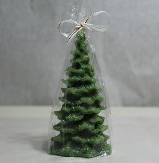 Свічка Новорічна Свічка новорічна Ялинка Колючий 10.0 x 4.5 x 0.0 см