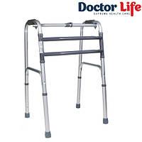 Ходунки складные алюминивые шагающие Dr.Life 10188/E/SL