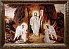 Ікона Воскресіння Господнє з бурштину