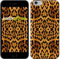 """Чехол на iPhone 6s Шкура леопарда v2 """"1075c-90-8079"""""""