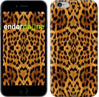 """Чехол на iPhone 6 Plus Шкура леопарда v2 """"1075c-48-8079"""""""