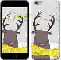 "Чехол на iPhone 6s Plus Лось и зайка ""3286c-91-8079"""