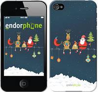 "Чехол на iPhone 4 Christmas v2 ""3306c-15-8079"""