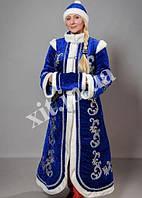 Взрослый новогодний костюм Снегурочка, р-р 50-52