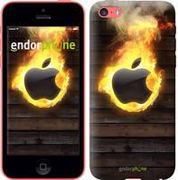 "Чехол на iPhone 5c Apple fire ""1292c-23-8079"""