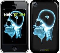 """Чехол на iPhone 3Gs Гомер. Томография """"652c-34-8079"""""""