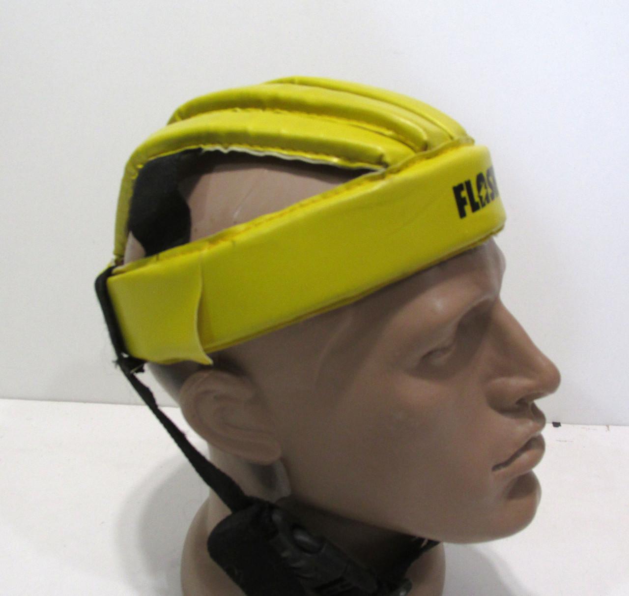 Вело шлем мягкий, FLASH, 53-54,  желтый, Хор сост!