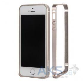 Чехол Benks Magic Metal Frame Apple iPhone 5, Apple iPhone 5S, Apple iPhone SE Aviation Alumium Gold - интернет-магазин BUMEKS.com.ua в Киеве