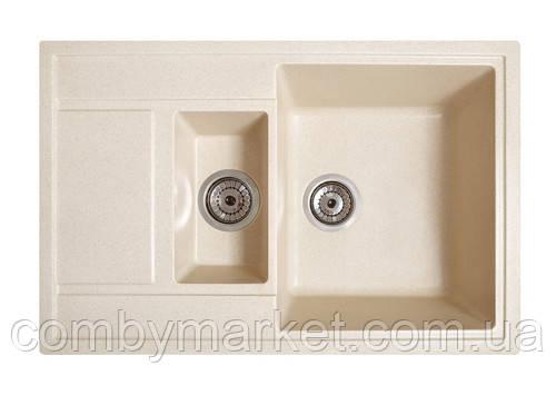 Кухонная мойка Галац JORUM 78D AVENA (501), 78х50х22 см