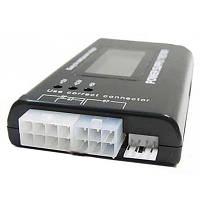 Тестер блоков питания ATX, BTX, ITX с LCD