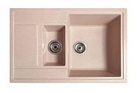 Кухонная мойка Галац JORUM 78D BEZHVY (401), 78х50х22 см