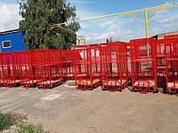 Тележка сетчатая для хранения и перевозки товарах