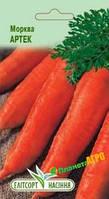 "Семена моркови Артек, раннеспелая, 2 г, ""Елітсортнасіння"", Украина"