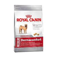 Корм Royal Canin (Роял Канин) MEDIUM DERMACOMFORT для собак средних пород с чувствительной кожей 10  кг