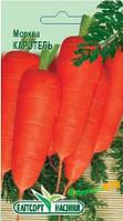 """Семена моркови Каротель, среднеспелая 2 г, """"Елітсортнасіння"""" Украина"""
