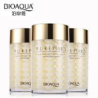 Крем для лица с жемчужной пудрой Bioaqua Pure Pearls. 120 мл, фото 1