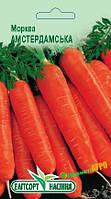"Семена моркови Амстердамская, раннеспелый, 2 г, ""Елiтсортнасiння"", Украина"