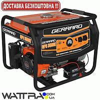 Электрогенератор (2.5 кВт) Gerrard GPG 3500Е бензиновый (1ф) (генератор напряжения)