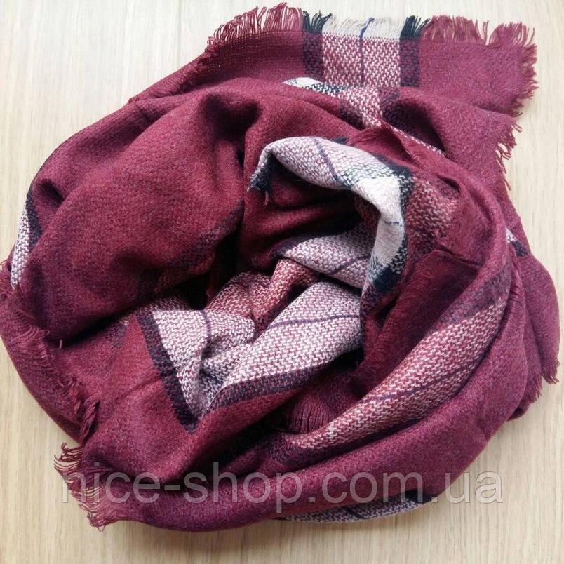 Стильный шерстяной платок, фото 2