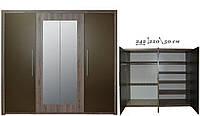 Шкаф Джульетта 4D 9 (с двумя зеркалами)   (VMV Holding/ВМВ Холдинг) 2420х500х2200мм