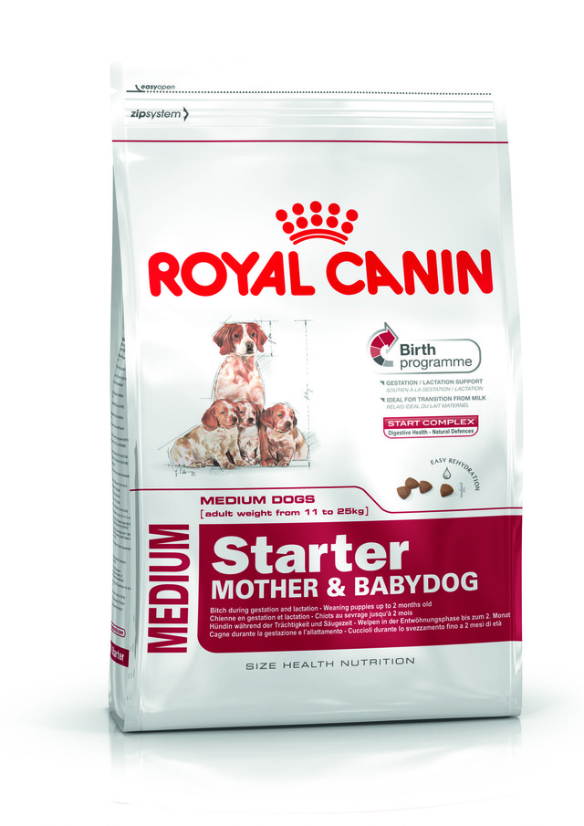Корм Royal Canin (Роял Канин) Medium Starter для щенков в период отъема до 2 месяцев