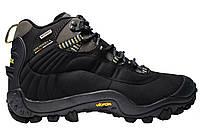 Зимние мужские кроссовки Merrell Continuum Goretex Black,  Р. 41 42 43 44 45 46