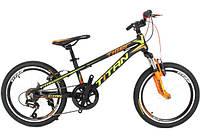 Велосипед Titan Tiger 20 black/orange/green