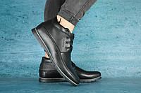 Мужские зимние ботинки VanKristi, натуральная кожа, набивная шерсть, размеры 40,41,42,43,44,45