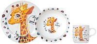 Набор детский Жираф LADYBIRD 3 предмета