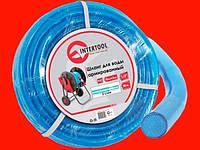 Intertool GE-4051 поливочный шланг для компрессора армированный 10м