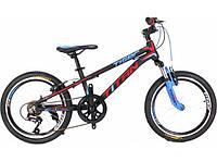 Велосипед Titan Tiger 20 black/red/blue