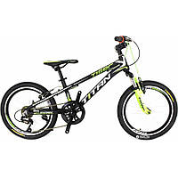 Велосипед Titan Tiger 20 black/green/white