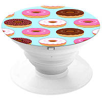 Попсокет Пончики popsocket утримувач і підставка для смартфона планшета