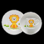 Комплект детский Lubiana, декор - львенок
