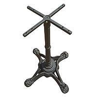 Основание из чугуна Сен-Тропе.  Опора для стола, база, основа для стола, подстолье.